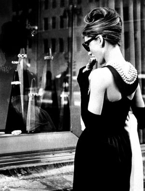 breakfast at tiffanys little black dress back