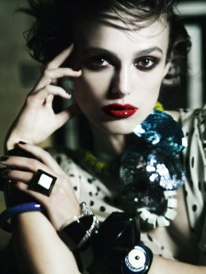Keira Knightley does Vogue UK january 2011