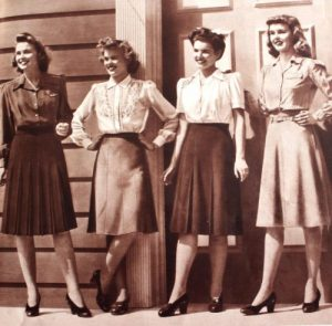 1940s skirts and blouses tops 1 500x491