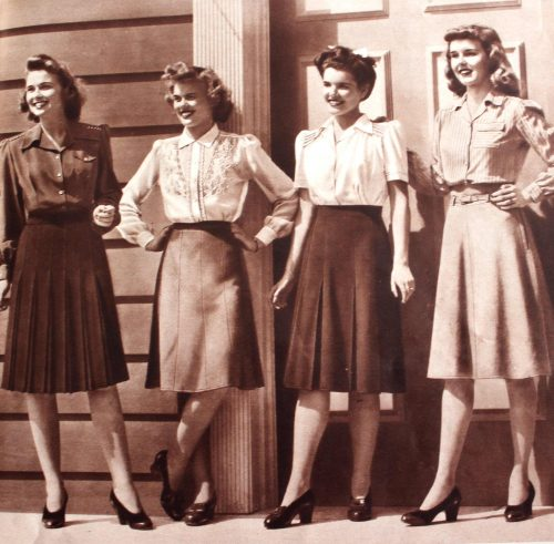 1940s skirts and blouses tops 1