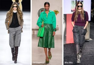 fall winter 2019 2020 fashion trends culottes