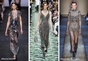 fall winter 2019 2020 fashion trends embellished noisy clothing