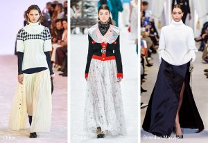fall winter 2019 2020 fashion trends maxi skirts