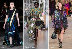 fall winter 2019 2020 fashion trends patchwork