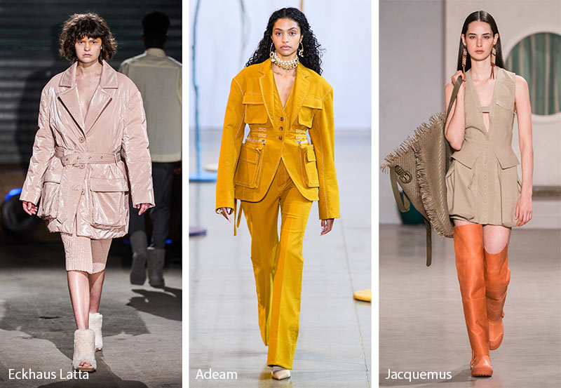 fall winter 2019 2020 fashion trends pockets