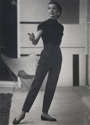 1950s pants dots photo 350x486