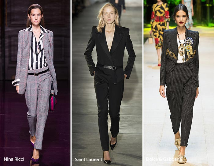 spring summer 2017 fashion trends pantsuits