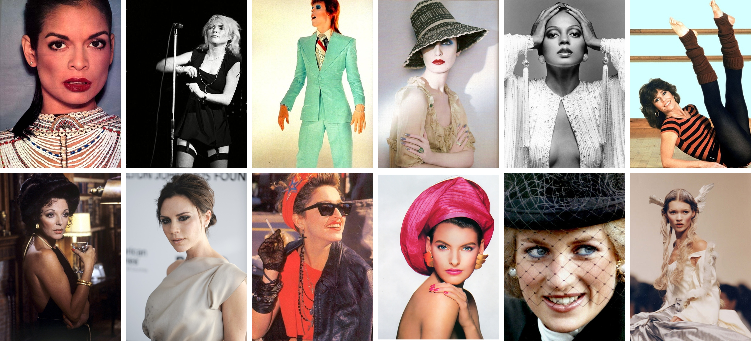 24 Style Icons throughout the Decades