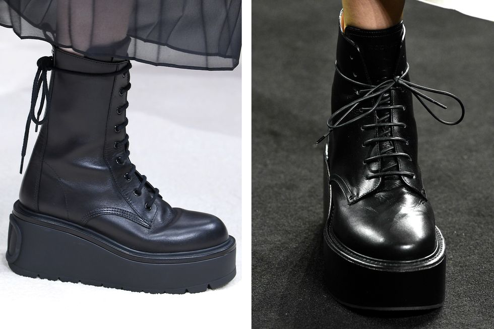 1 Lace up boots